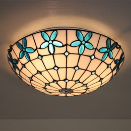 $enCountryForm.capitalKeyWord NZ - Round Creative Lilac Pattern Shade Ceiling Light European Simple Bedroom Study Living Room Plafonnier Stairway Balcony Corridor Ceiling Lamp