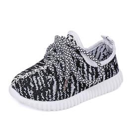 Discount shark mesh - Stan Shark New Children Shoes Boys Girls Sneaker Breathable Kids Lace Up Sport Mesh Shoes 4 Colour Size 21-35 Y19051303
