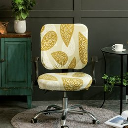 $enCountryForm.capitalKeyWord NZ - Meijuner Modern Print Chair Cover Office Computer Polyester Chair Covers Elastic Universal Split Cover For Home Decor Y363