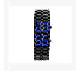 $enCountryForm.capitalKeyWord Australia - Classic style electronic watch, LED mirror watch lava led watch environmental protection technology silica gel