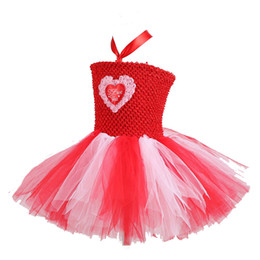 $enCountryForm.capitalKeyWord UK - Valentine's Day Vintage Flower girl Tutu Dress Ivory Peach Coral Wedding Tutu Dress Birthday Triple Layered Full and fluffy Dress