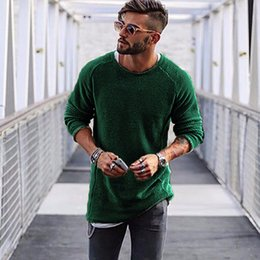 Black Jumper Sweater Australia - Men Sweater Autumn Winter Knitted Solid Simply Style Pullover Casual Loose O Neck Sweater Jumper Male Black Outerwear brand 2018