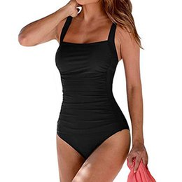 $enCountryForm.capitalKeyWord UK - Swimwear Women Summer Backless Sexy Solid Swimwear Beachwear Siamese Swimsuit Biquini Set Swimsuit biquini 2019 swimming suit