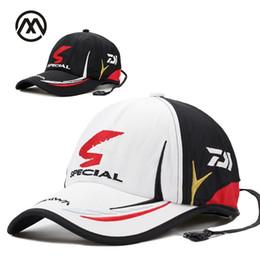 2c0678ccae96a Real brand Daiwa cap Adult Men Adjustable fishing cap Daiwa Hat Japanese  Japan Sunshade Sport Baseball wholesale Hat Cap