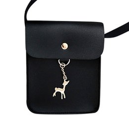 Leather Luxury High Quality Bags Australia - Cheap luxury handbags women bags designer high quality Women's Vintage Small Deer Pendant Leather Shoulder Bag Zero Bag C