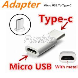 $enCountryForm.capitalKeyWord Australia - Mini Micro USB to Type C Cable Adapter Converter fornote7 new MacBook ChromeBook Pixel Nexus 5X 6P Type C Connector with Metal Piece