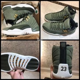 $enCountryForm.capitalKeyWord Australia - Real Carbon Fiber 12 12s XII Graduation Pack Chris Paul Class Of 2003 Mens Basketball Shoes Top Quality CP3 Green Suede Sneakers