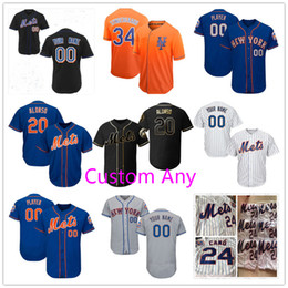 2675962d2 Custom Mets Jersey Pete Alonso 24 Cano Jacob deGrom McNeil Nimmo Tim Tebow  Syndergaard Amed Rosario Diaz Conforto Wright Men Women Youth Kid