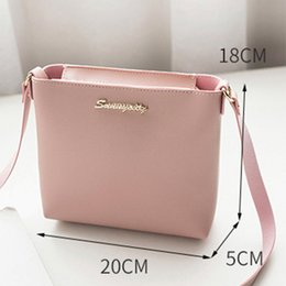 purse lights 2019 - 2018 Fashion Women Solid Zipper Shoulder Cross Body Bag New Solid Messenger Phone Purse Bucket Bag Casual Sweet Mini Hot