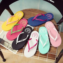$enCountryForm.capitalKeyWord Australia - 2019Wholesale Free Shipping Special SALES Candy colors Womens Beach Summer Slippers Flip Flops Couple slippers Multi -Color pink dog slippe