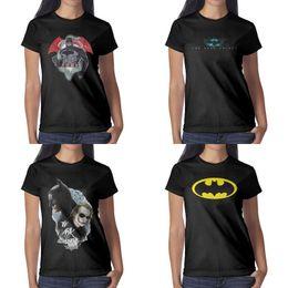 $enCountryForm.capitalKeyWord Australia - Womens design printing batman superman ink logo black t shirt funny vintage superhero friends shirts slogan shirt cute trendy The the