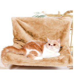 kitty cat bedding 2019 - Pets Window Cat Bed Radiator Hammock Perch Seat Bed Lounge hammocks for Pet Cat Cozy Hanging Kitty Mount House Hammock S