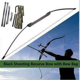 $enCountryForm.capitalKeyWord Australia - 35 lbs Archery Black Hunting Bow For Right Hand and Right Hand High Quality Aluminum Alloy Recurve Bow Comfortable and Easy To Bring
