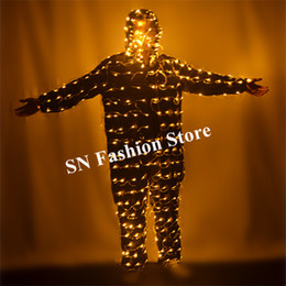 $enCountryForm.capitalKeyWord NZ - M10 Christmas wears clothing ballroom dance led men costumes robot suit bulbs lighted bodysuit dj catwalk show outfits party bar glowing ktv
