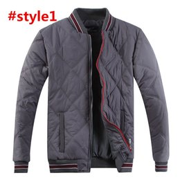 uniform polo NZ - USA brand States Paul down cotton men's Designer winter jacket POLO jacket Europe America baseball uniform casual padded coat