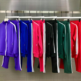 Wholesale men s long coats for sale - Group buy 2020 mens womens tracksuit Sweatshirts Suits men track sweat suit coats man jackets coat hoodie sweatshirt Sportswear