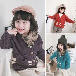 $enCountryForm.capitalKeyWord Australia - Kids Winter Cardigan Baby Sweater Japan Style Outer Wear Korea Type Baby Knitted Warm Jacket