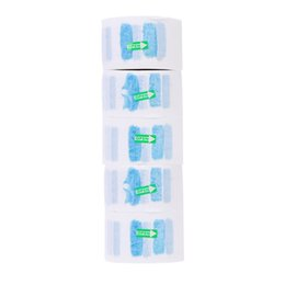 hair papers UK - 5pcs Disposable Neck Covering Paper Towel Hairdressing Product Have Breakpoint Muffler Scarf Paper Hair Accessory H11986