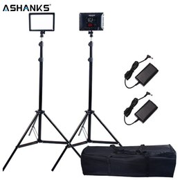 $enCountryForm.capitalKeyWord UK - ASHANKS Bi-Color Dimmable LED Video Light and Light Stand AC Adapter with Bag for DSLR Camera Studio lighting
