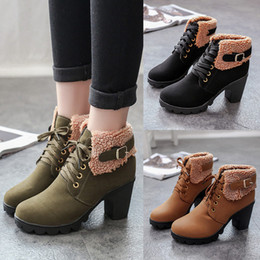 $enCountryForm.capitalKeyWord Australia - Woman Honor2019 England The Wind Round Head Chalaza Coarse Short Baby Search Edge High With Cotton Boots Thickening Winter Shoes