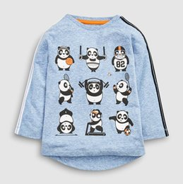 $enCountryForm.capitalKeyWord Australia - 100% cotton long sleeve baby boys t-shirts girls tops shirt sweat infant boy children shirts toddler cartoon funny blue tee full sleeve2-7yr