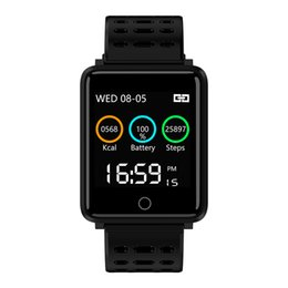 Wholesale IP68 Smart Watch Blood Pressure Activity Tracker Smartwatch Men Sport Fitness Women Wearable Devices intelligent For IOS Android