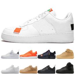 $enCountryForm.capitalKeyWord Australia - HOT Men pack white Low running Shoes Women Fashion black high triple black flax low orange utility white Sport Trainer Shoes size 36-45