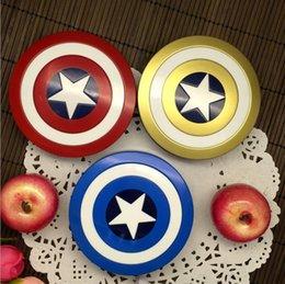 $enCountryForm.capitalKeyWord NZ - Contact Lenses Case Captain America Contact Lens Companion Box Case For Eyewear Accessories Iron Man Shield 71*71*21mm