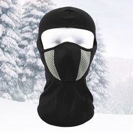 Head Face Mask Australia - Winter Ski Mask windproof cycling face masks Outdoor CS nylon full Face head Hat keep warm Coldproof for skiing climbing hiking