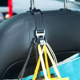 purse bag rack 2019 - Car Portable Seat Hanger Purse Bag Holder Hook Headrest Auto Rear Racks Hook Storage Clip cheap purse bag rack