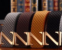 Z Buckle Leather Belt UK - 2019 Men&Women Genuine Leather Belt High Quality Designer Belt Unise With Letter Z Buckle Blet Cinturon Belts For Men Women