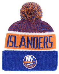 0bdeb1162bcb8 ISLANDERS Hockey NEW YOrK knit Beanies Embroidery Adjustable Hat  Embroidered Snapback Caps Black Gray White Stitched Hats One Size 08