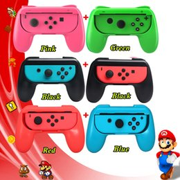 xbox joypad UK - 2pcs Nintendoswitch ABS Gamepad Other Game Accessories Grip Handle Joypad Stand Holder Nintend Accessories For Nintendo Switch NS Game Joyco