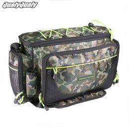 $enCountryForm.capitalKeyWord NZ - 41x16x25cm Fishing Bag 1200D Nylon Multifunctional Outdoor Waist Shoulder Bags Reel Lure Storage Bag Pack Fishing Tackle #250807