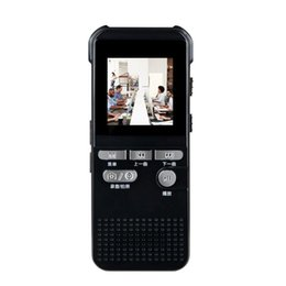 Wholesale Digital Camera Recorder Video Voice Recording Pen For E830 MP3 Player with inch Screen Display Motion Detection Loop Record