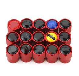 Alloy Dust Valve Caps Australia - Popular Red Aluminum alloy Mini Tire Valve Valves Tyre Dust Cap Caps Car Badge [254 logo available]