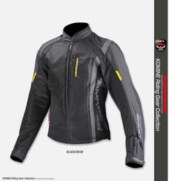 Off rOad mOtOrcycle jackets online shopping - Komine JK motorcycle equipped with motorcyclist of the men off road Rally outfits wrestling outfits riding Racing jacket