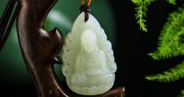 $enCountryForm.capitalKeyWord UK - The opening and the Nephrite pendant belong to the dog pig Amitabha Buddha Life Buddhist Guardian God 12 Zodiac necklace men and