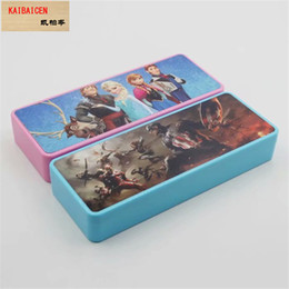 Stationery Australia - sublimation Blank DIY school stationery box cartoon folding ABS pencil case