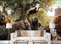 $enCountryForm.capitalKeyWord Australia - Custom Photo Wallpaper Mural 3DNordic minimalist rainforest forest animal ch Wall Decorative Painting papel de parede wall papers home decor