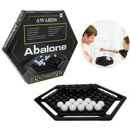 Abalone Board Game Classic Strategy Puzzle Kids Family Party Educational Game