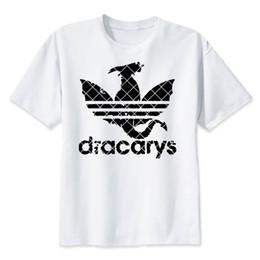 China Dracarys Men T Shirts Daenerys T-shirt Mother Of Dragon Khaleesi Harajuku Vintage Camisetas Aesthetic Clothes supplier aesthetic clothing suppliers
