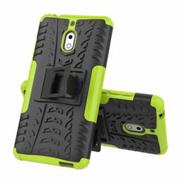 Chinese  2 in 1 Comb Armor Hybrid TPU Heavy Duty Case For Nokia 2.3 2.1 2V 7.2 4.2 3.2 2.2 manufacturers