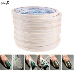 $enCountryForm.capitalKeyWord UK - Monja 1Pcs 3 4 5mm Nail Art Stripe Adhesive Tape Rolls Decoration Guide Design Tips DIY White Striping Sticker Manicure Tools