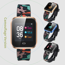 $enCountryForm.capitalKeyWord Australia - CD16 Smart Watch Android With Blood Pressure Heart Rate Monitor Pedometer Stopwatch Sports Smartwatch men Fashion smart wear