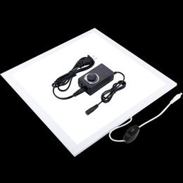 $enCountryForm.capitalKeyWord NZ - PULUZ 1200LM LED Photography Shadowless Bottom Light with Switch Super Bright Lamp Panel No Polar Dimming Light PU5138