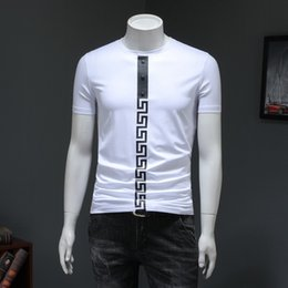 c3c37126b65 2019 New Pattern Summer Man T Shirts Printing And High Quality Korean  Version Short Sleeve T-shirt