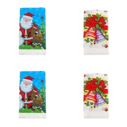 table cloths disposable NZ - Cartoon Characters Style Table Covers Disposable Santa Claus Pattern Tables Cloth Birthday Party Decoration Pearlescent Film Tablecloths 2 2