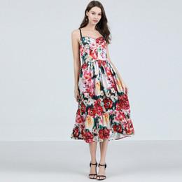 9aecfb68ae1 2019 Fashion Elegant Women s Floral Printed Dresses