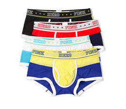 $enCountryForm.capitalKeyWord UK - 2019 Men Boxer Underwear Breathable Silk Mesh Cloth Color Cotton Men Boxers Underwear Gay Mens Shorts Boxers Panties 1270
